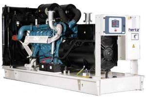 Дизельный генератор Hertz HG 275 DM