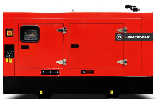 Дизельный генератор Himoinsa HYW-30 M5 в кожухе