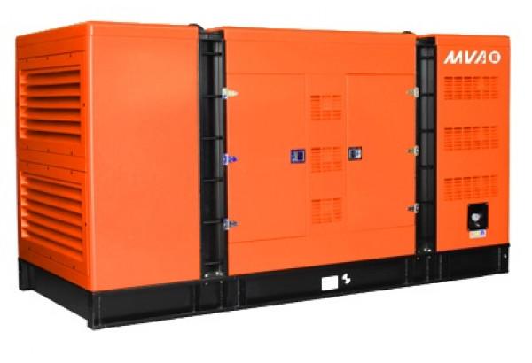 Дизельный генератор MVAE АД-120-400-С в кожухе с АВР