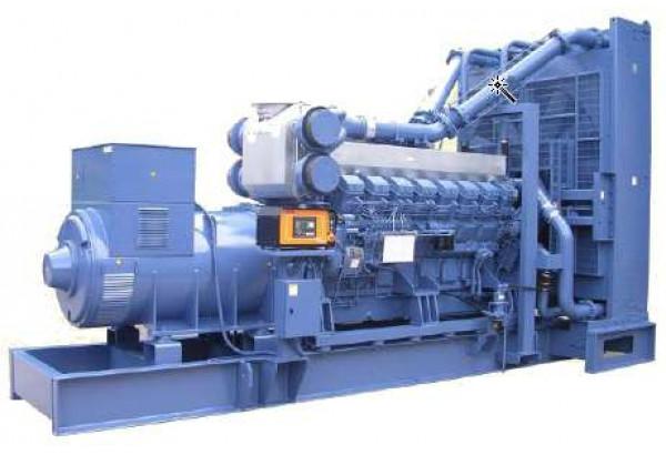 Дизельный генератор Mitsubishi MGS1000B (1250 кВа)