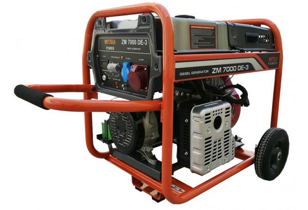 Дизельный генератор Mitsui Power ZM 7000 DE-3