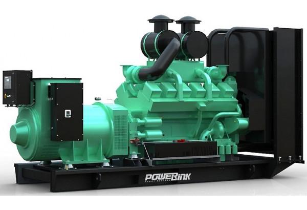 Дизельный генератор PowerLink GMS1250C с АВР