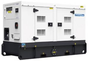 Дизельный генератор PowerLink PP20S в кожухе с АВР