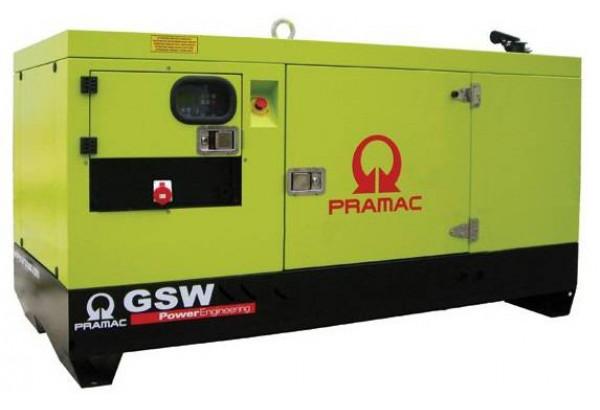 Дизельный генератор Pramac GSW 15 Y 1 фаза