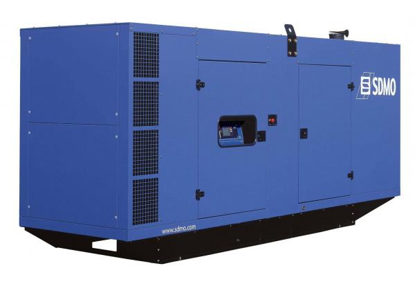 Дизельный генератор SDMO D275 в кожухе с АВР