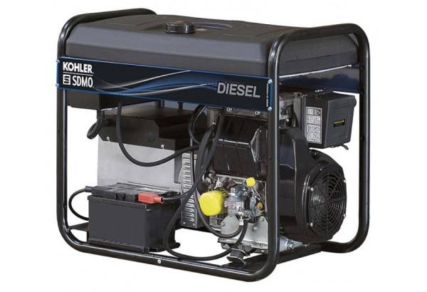 Дизельный генератор SDMO DIESEL 15000 TA XL EXPORT