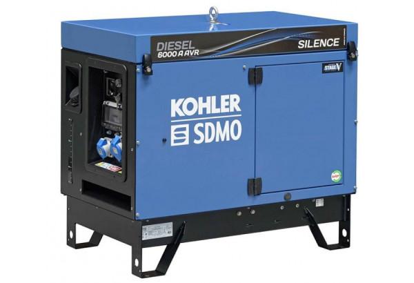 Дизельный генератор SDMO DIESEL 6000 A AVR SILENCE C5