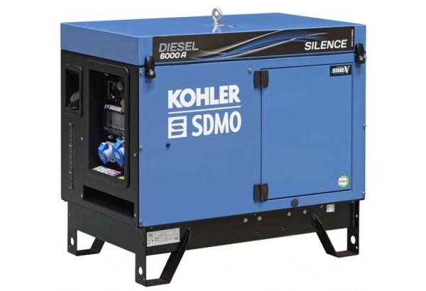 Дизельный генератор SDMO DIESEL 6000 A SILENCE C5