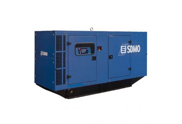 Дизельный генератор SDMO J165K в кожухе с АВР