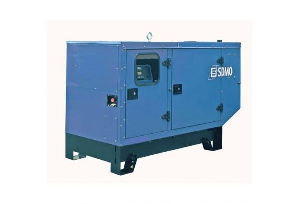 Дизельный генератор SDMO J22 в кожухе