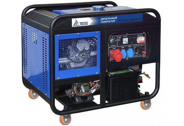 Дизельный генератор ТСС SDG 10000 EH3A