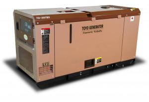Дизельный генератор Toyo TG-28TBS с АВР