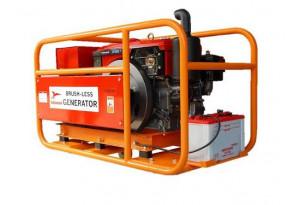 Дизельный генератор Yanmar YTG 10 S-E1