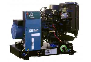 Дизельный генератор SDMO J-33, 24  кВт, 24  кВт John Deere 3029DF120