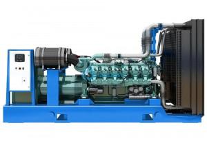 Дизельный генератор АД-720  BAUDOUIN MOTEURS 12М26, 720 кВт