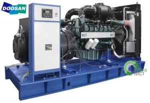 Дизельный генератор АД-500 Doosan DP180LB, 500 кВт