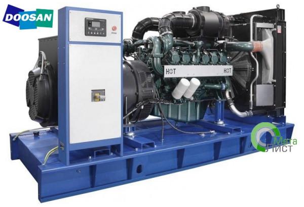 Дизельный генератор АД-540 Doosan DP222LB, 540 кВт