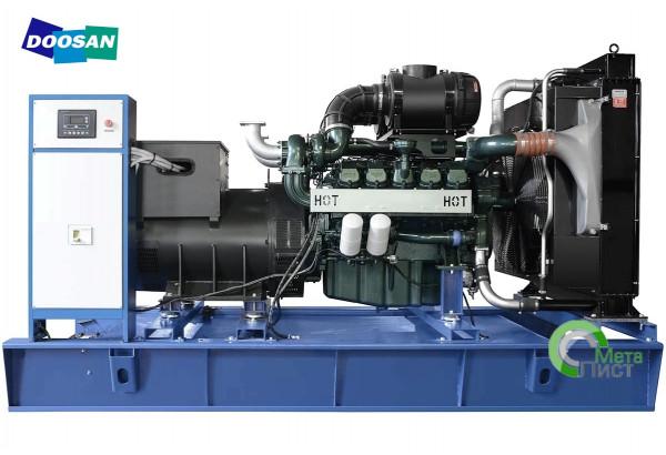 Дизельный генератор АД-460 Doosan DP180LA, 460  кВт