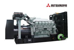 Дизельный генератор АД-640  Mitsubishi S12A2-PTA