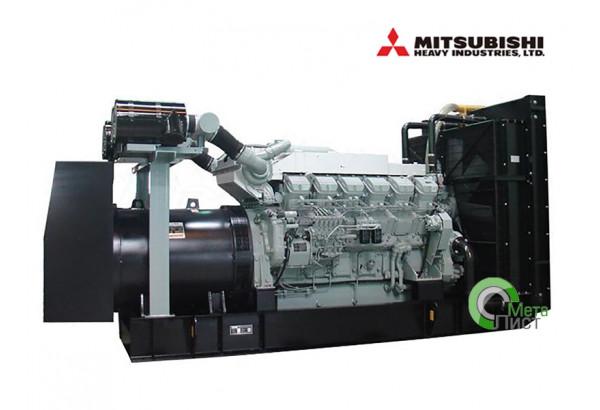 Дизельный генератор АД-800 Mitsubishi S12H-PTA, 800 кВт