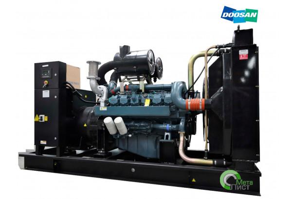 Дизельный генератор АД-550 Doosan DP222LB, 550 кВт