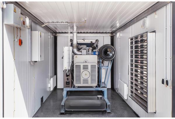Правила отвода выхлопных газов дизель-генераторов